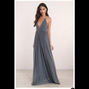 Tobi Deep V Maxi Dress